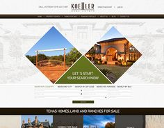 """Check out new work on my @Behance portfolio: """"website design for real estate company"""" http://on.be.net/1KrIYzp"""