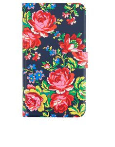 Blue Roses Samsung S5 Diary Case | Navy | Accessorize