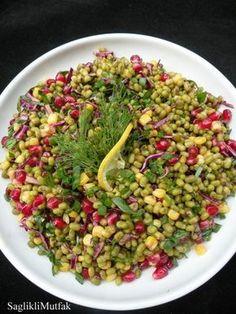 Narlı Maş Fasulyesi Salatası – Sağlıklı Mutfak