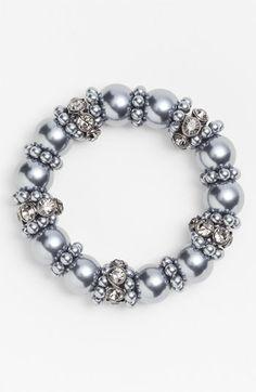 Givenchy Glass Pearl Stretch Bracelet   Nordstrom