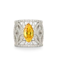 The first Autumn glow - our beautiful citrine, 18ct white gold and diamonds Zuri Ring – Jenna Clifford
