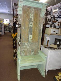 Hall Tree Furniture On Pinterest Hall Trees Old Doors And Door Hall Trees