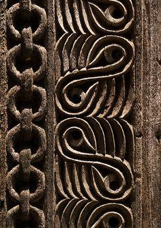 Door detail, Zanzibar, Tanzania (by Eric Lafforgue)