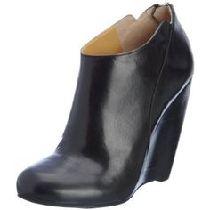 $119, Nine West Women's Lottie Wedge Bootie - designer shoes, handbags, jewelry, watches, and fashion accessories | endless.com