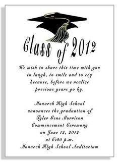 Free Printable Graduation Invitation Templates 2013 2017