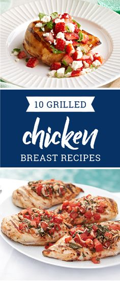 10 Grilled Chicken Breast Recipes – Get fired up for some grilled chicken recipes! Anyone who's ever said chicken breast recipes are boring has never tried one of these delicious dishes! There's nothing boring about our sweet and sticky BBQ chicken, bistro-style chicken salads, or party-perfect kabobs.