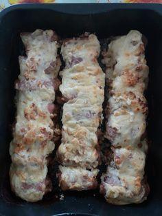 Sushi, Pork, Cheese, Meat, Ethnic Recipes, Kale Stir Fry, Pork Chops, Sushi Rolls