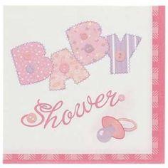 Servetten Babyshower Roze