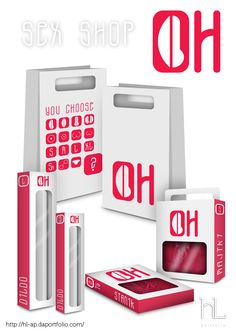 Graphic Design Packaging / Very creative, and elegant...even discrete...in some way