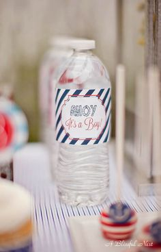 A Blissful Nest - Ahoy It's A Boy Baby Shower