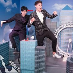 This model city is like my little world in my head... Amd this is what happened when I find Dan & Phil :D