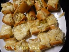 Mostly Food and Crafts: Artichoke Bread
