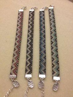 Weer een paar leuke armbanden gemaakt!