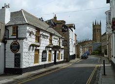 The Admiral Benbow, Chapel Street, Penzance, Cornwall