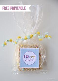 """Free """"Hoppy Easter"""" printable on iheartnaptime.com :D"""
