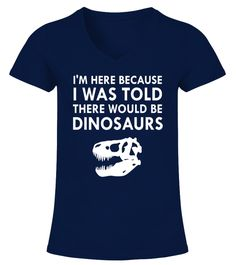 Raptor Trainer Velociraptor Jurassic Park Dinosaur Parody Ladies T-Shirt