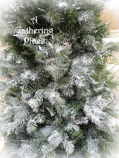 ~~~HOW TO PAINT YOUR CHRISTMAS TREE~~~ Winter White Wonderland