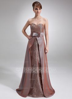 Mother of the Bride Dresses - $172.99 - A-Line/Princess Sweetheart Sweep Train Taffeta Mother of the Bride Dress With Lace Beading (008006403) http://jjshouse.com/A-Line-Princess-Sweetheart-Sweep-Train-Taffeta-Mother-Of-The-Bride-Dress-With-Lace-Beading-008006403-g6403