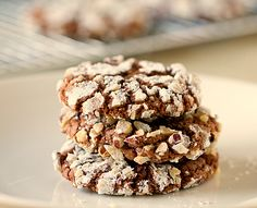 Nutella-Hazelnut Cookies