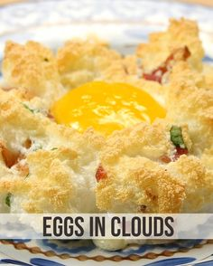 Blow Everyone At Brunch Away With This Delicious Eggs In Clouds Dish