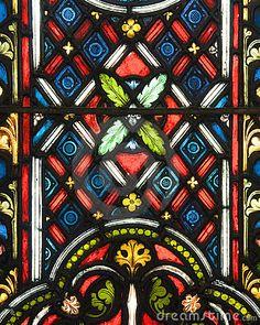 Stained glass patterns by Koh Sze Kiat, via Dreamstime