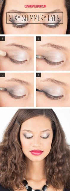 Makeup How-To: Sexy Shimmery Eyes  - Cosmopolitan.com