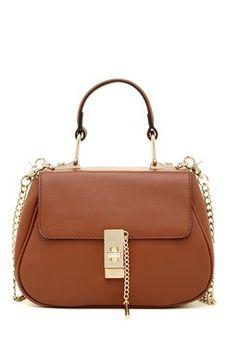 Noelle Leather Satchel
