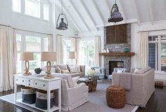 Muskoka cottage retreat gets a beach style makeover