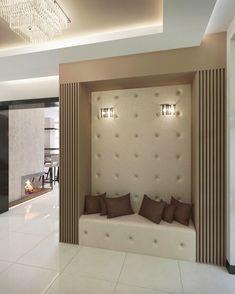 egyedi tervezésű elegáns előtér Interior Architecture, Interior Design, Art Deco, Building, Flats, Home Decor, Interiors, Living Room, Design Interiors