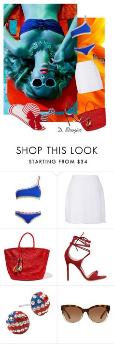 """""""Happy Fourth of July!"""" by deborah-strozier ❤ liked on Polyvore featuring kiini, Mochi, Sensi Studio, Gianvito Rossi and Michael Kors"""