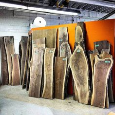 Walnut anyone?  Tons of kiln dried and flattened premium live edge Ontario Black Walnut in stock at both our Hamilton and Toronto shops.  Come in and pick out a piece for a DIY project or have us make something for you - the choice is yours.  #liveedge #liveedgewalnut #blackwalnut #desk #barnboard #barnwood #barn #reclaimed #reclaimedwood #rustic #rusticwood #igers #toronto #hamilton #hamont #tdot #the6ix #905 #cottage #muskoka #decor #loft #condo #GTA #woodworking #ontariowood…