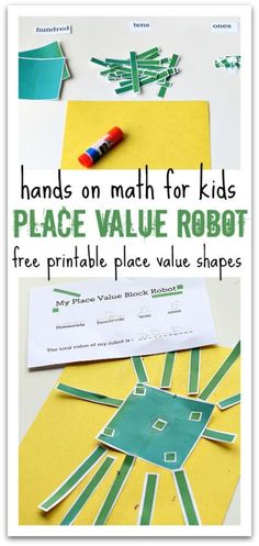 Sneak a little fun into math with a place value math activity from No Time for Flashcards