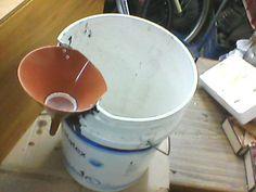 urine separator for composting toilet tiny house pinterest hausboote wohnmobilumbau und. Black Bedroom Furniture Sets. Home Design Ideas