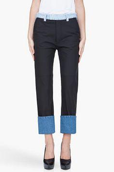 #maisonmartinmargiela blk #leatherjeans ...uggghhh, INSANELY priced (2730.00 eeek), but sooooo #perfect!!!