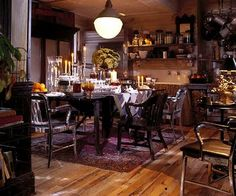 """Ralph Lauren Home Archives, """"New Bohemian"""" Dining Room"""