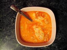 Cheesy Buffalo Chicken Soup. NEED. NOW.