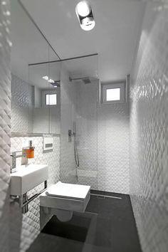 Baños de estilo por Neostudio Architekci