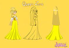 Queen Luna of Dremis.