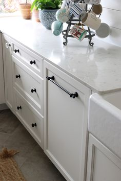 How We Chose Our Kitchen Appliances - Covered panel ready dishwasher - The Inspired Room