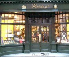 librería Hatchards, en Londres,  vende libros desde 1797.