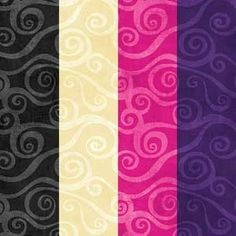 """Swirly Scroll 108"""" Wide Quilt Fabric Backing"""