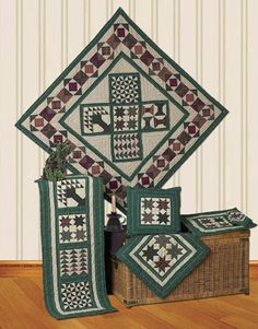 Planned Sampler Quilts | Choices Quilts offers Planned Sampler Quilts handmade for you! You can shop online or call us toll-free @ 1-800-572-2070 or 770-641-9700.
