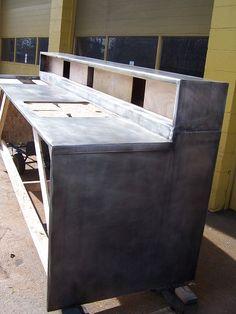 Zinc Countertop Diy : Zinc Countertops on Pinterest Zinc Countertops, Zinc Table and ...