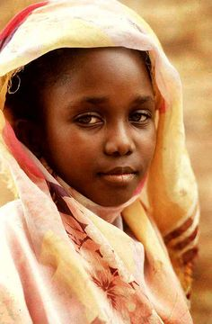 Young sudanese girl