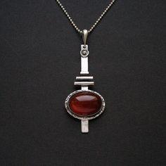 silver pendant by Anna Fidecka