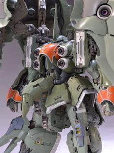 HGUC 1/144 NZ-666 KSHATRIYA custom build - Gundam Kits Collection News and Reviews
