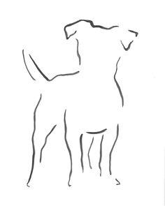 Tatoo Dog, Dog Tattoos, Animal Tattoos, Cute Tattoos, Chien Jack Russel, Jack Russell Terrier, Dog Outline, Tattoo Outline, Dog Line Art