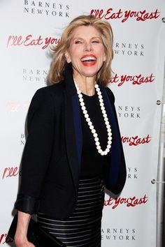 Christine Baranski is 61 today.
