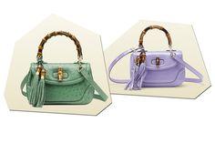 Le 25 borse pastello per la primavera estate 2014 - Grazia.it Gucci struzzo
