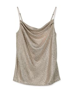 COUNTRY ROAD Metallic Cami | Woolworths.co.za Shape Of Your Body, Cami, Metallic, Country Roads, T Shirt, Clothes, Tops, Women, Fashion